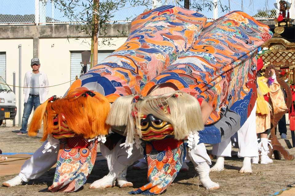 産宮神社 秋祭